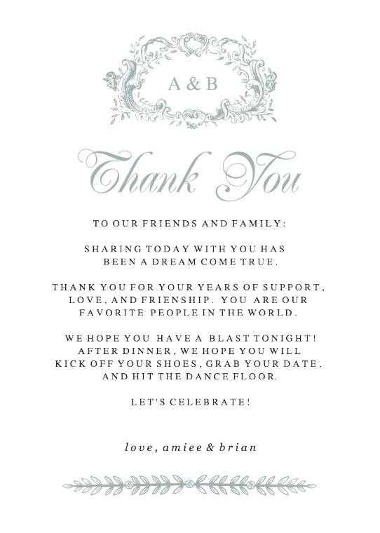 photograph relating to Thank You for Your Commit Mint Free Printable referred to as Wedding ceremony Printables and Absolutely free Marriage Templates Simple Invite