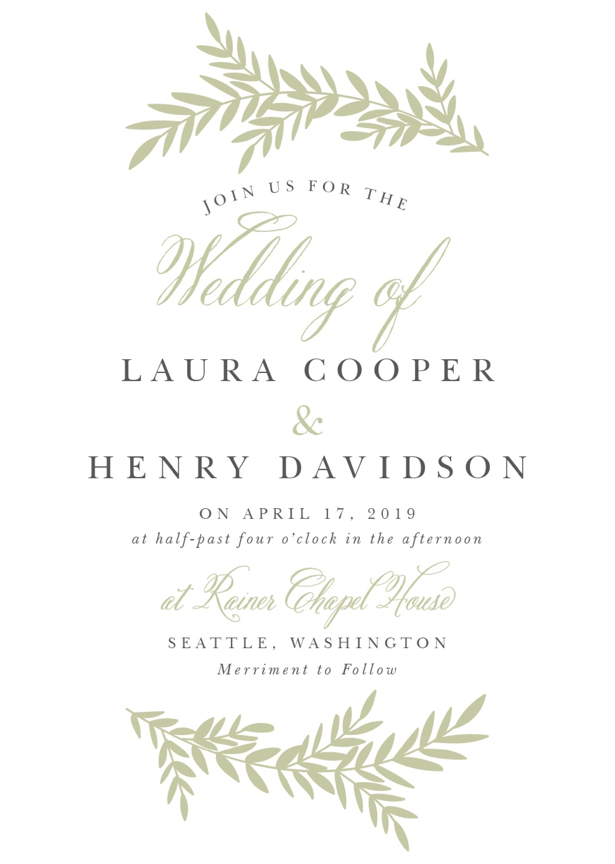 Example Wedding Invitations Kahre Rsd7 Org