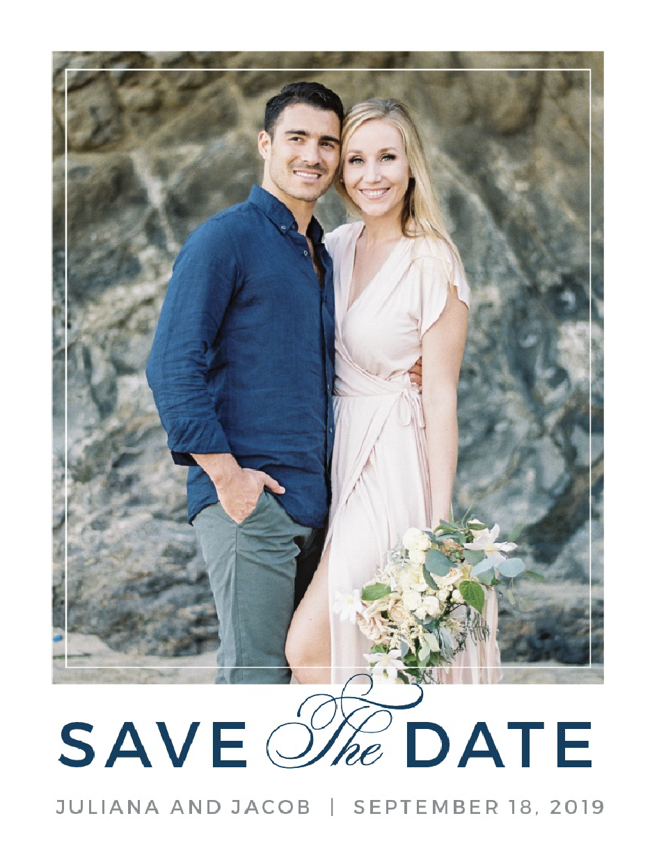 Basic Invite Save The Dates