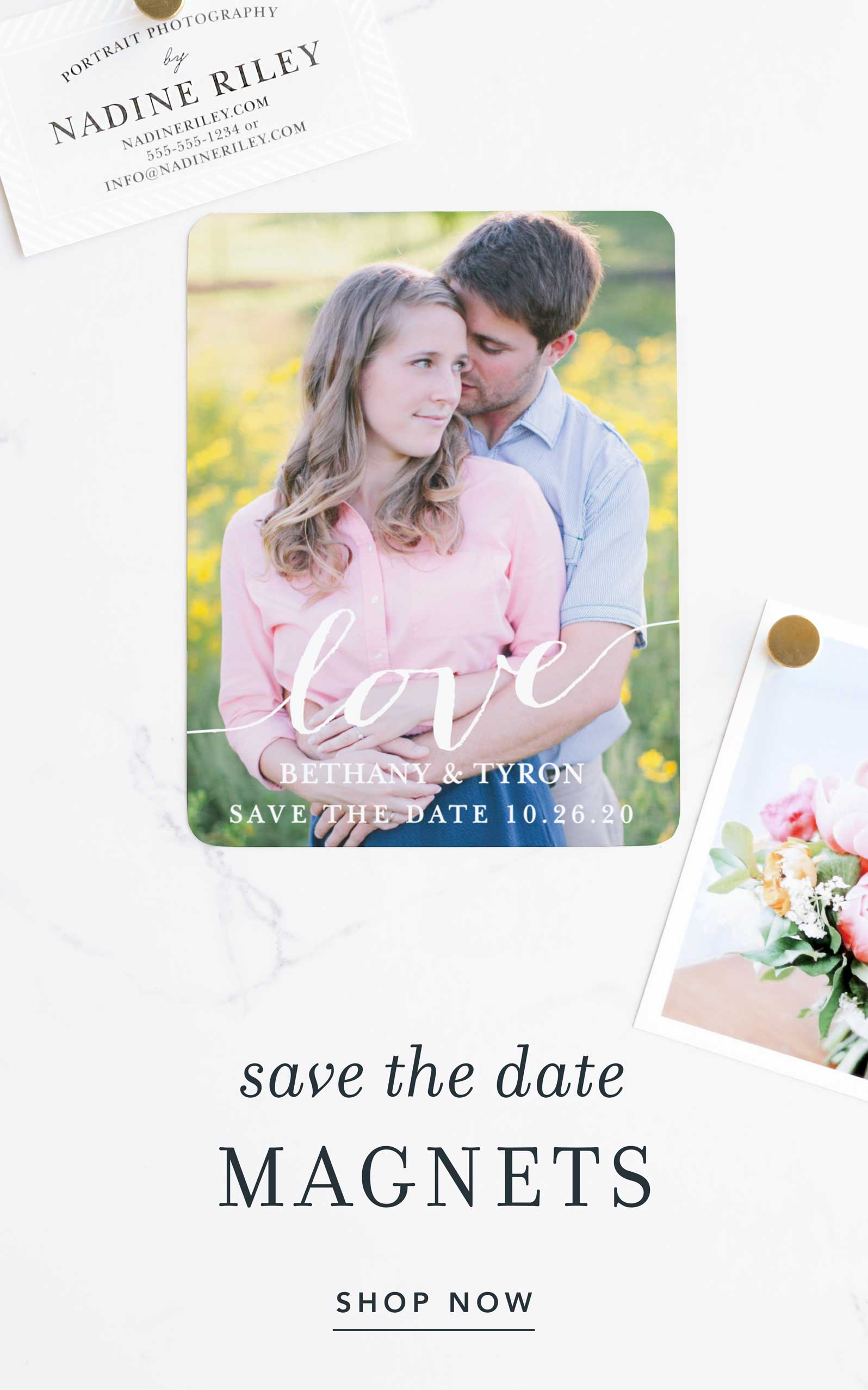 Save The Date Magnet!