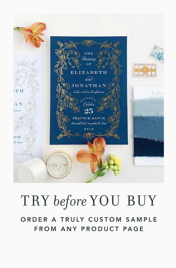 Try a Truly Custom Sample Before You Buy!