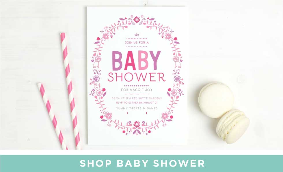 Baby Announcements And Baby Shower Invitations By Basicinvite Com
