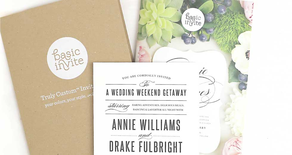 Wedding - Sample Folder and Product Catalog