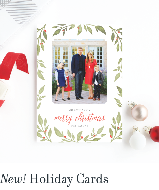 New! Holiday Cards