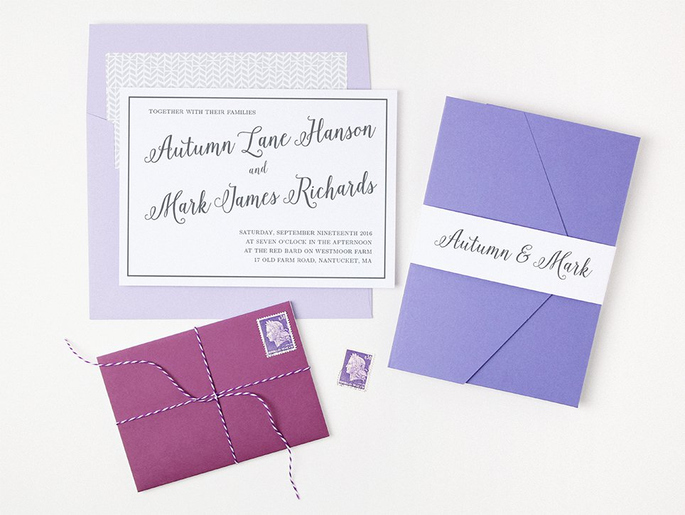 basic invite envelopes