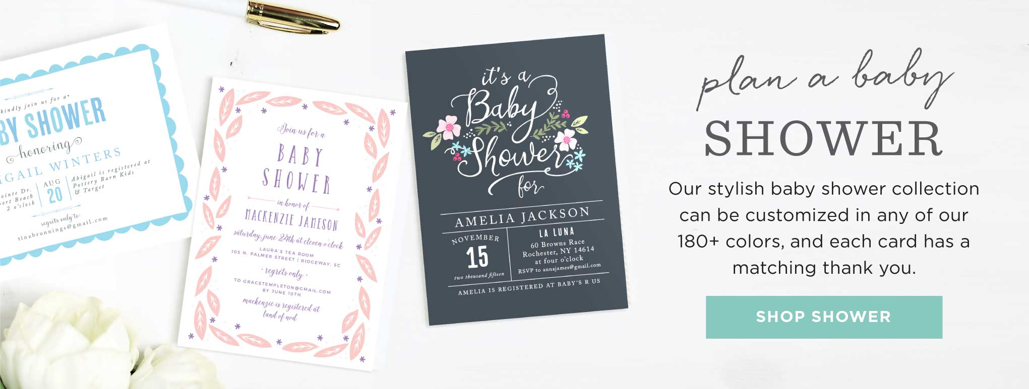 a74b192736d Baby Shower Invitations