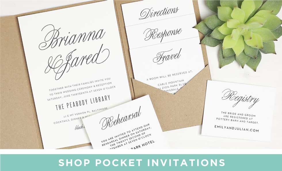 basic invite wedding invitations wedding enclosures wedding